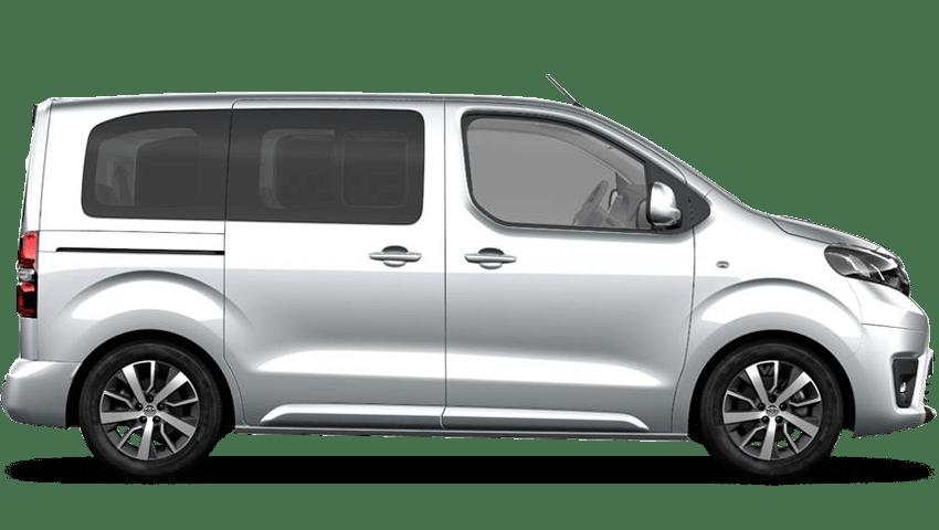 Aluminium Silver (Metallic) Toyota PROACE VERSO