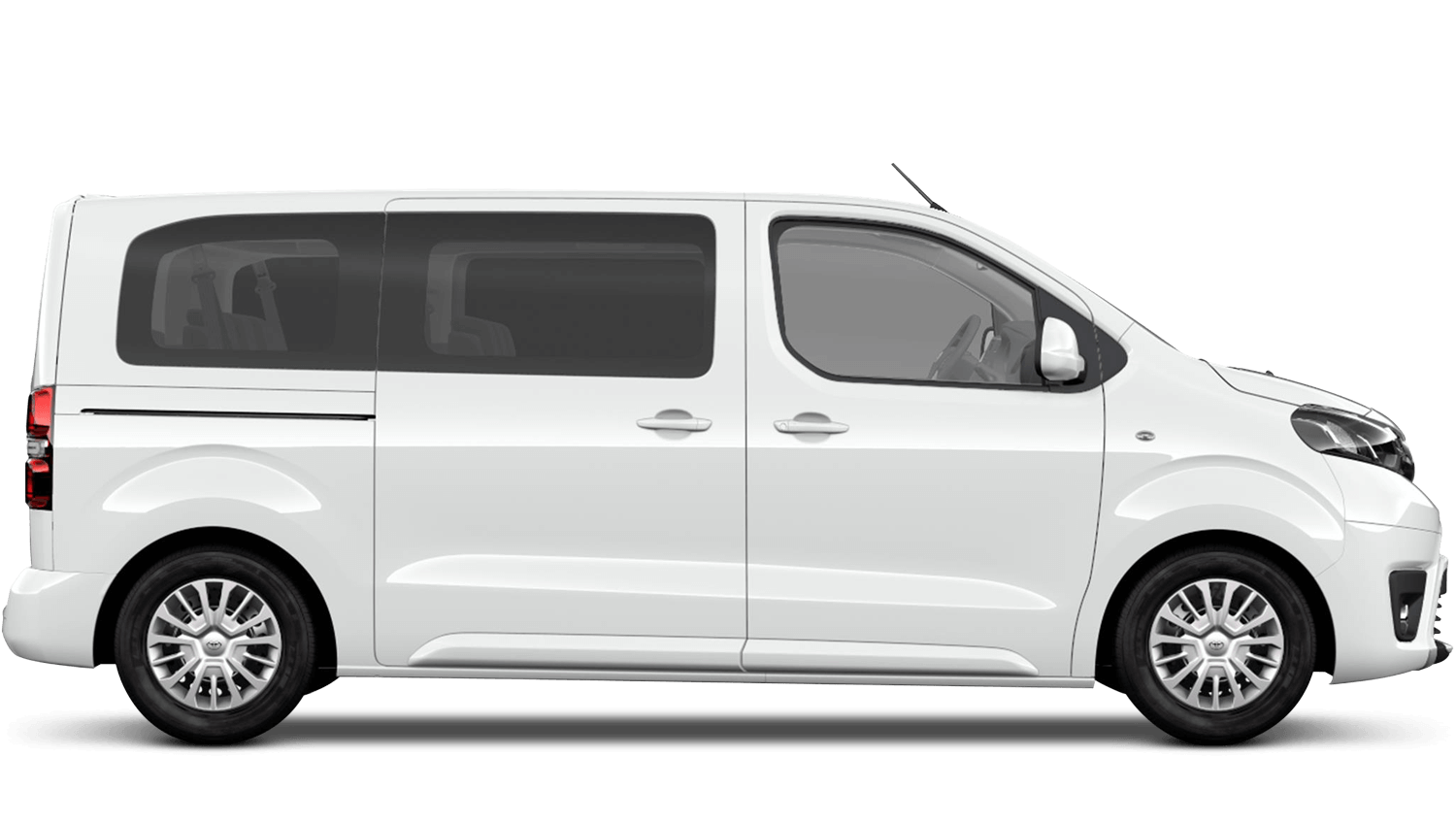 Vivid White (Solid) Toyota PROACE VERSO