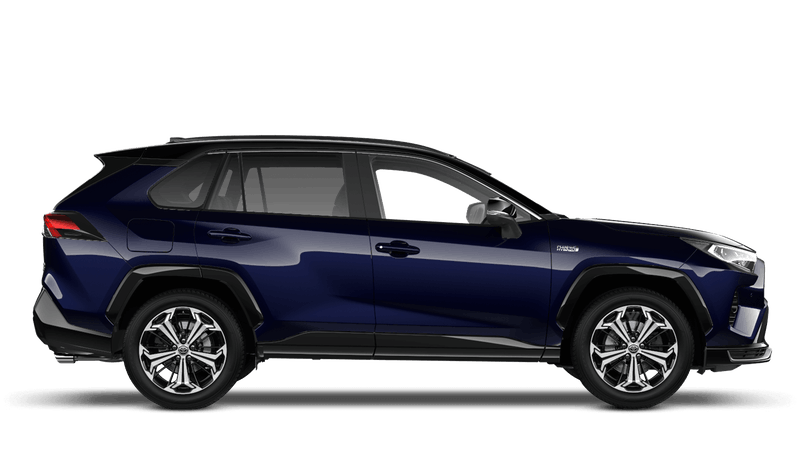 Obsidian Blue All New Toyota Rav4 Plug-in