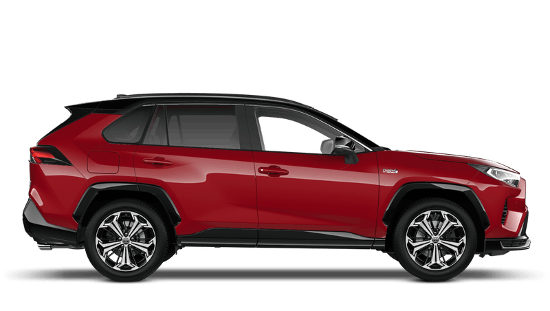 Scarlet Flare All New Toyota Rav4 Plug-in