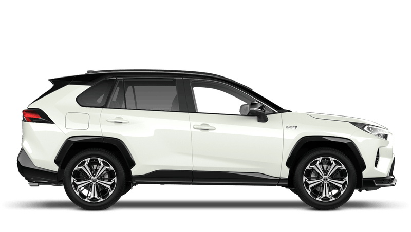 White Pearl All New Toyota Rav4 Plug-in