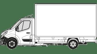 Vauxhall Movano Box Van