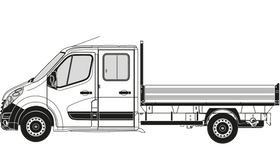 Movano Crew Cab Dropside