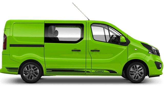 Vauxhall Vivaro Limited Edition Nav Offer