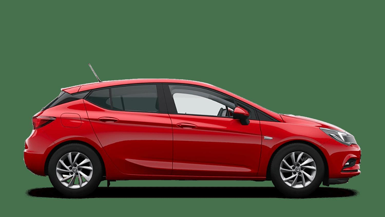 Lava Red (Brilliant) Vauxhall Astra
