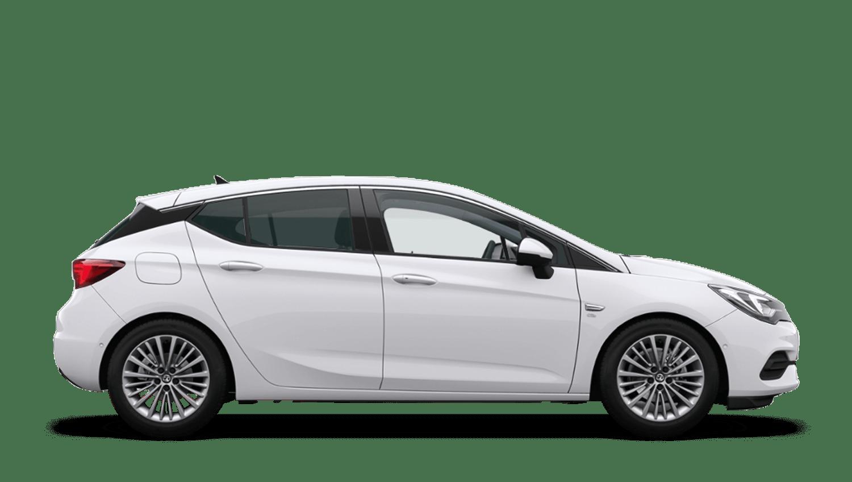 Summit White (Brilliant) New Vauxhall Astra