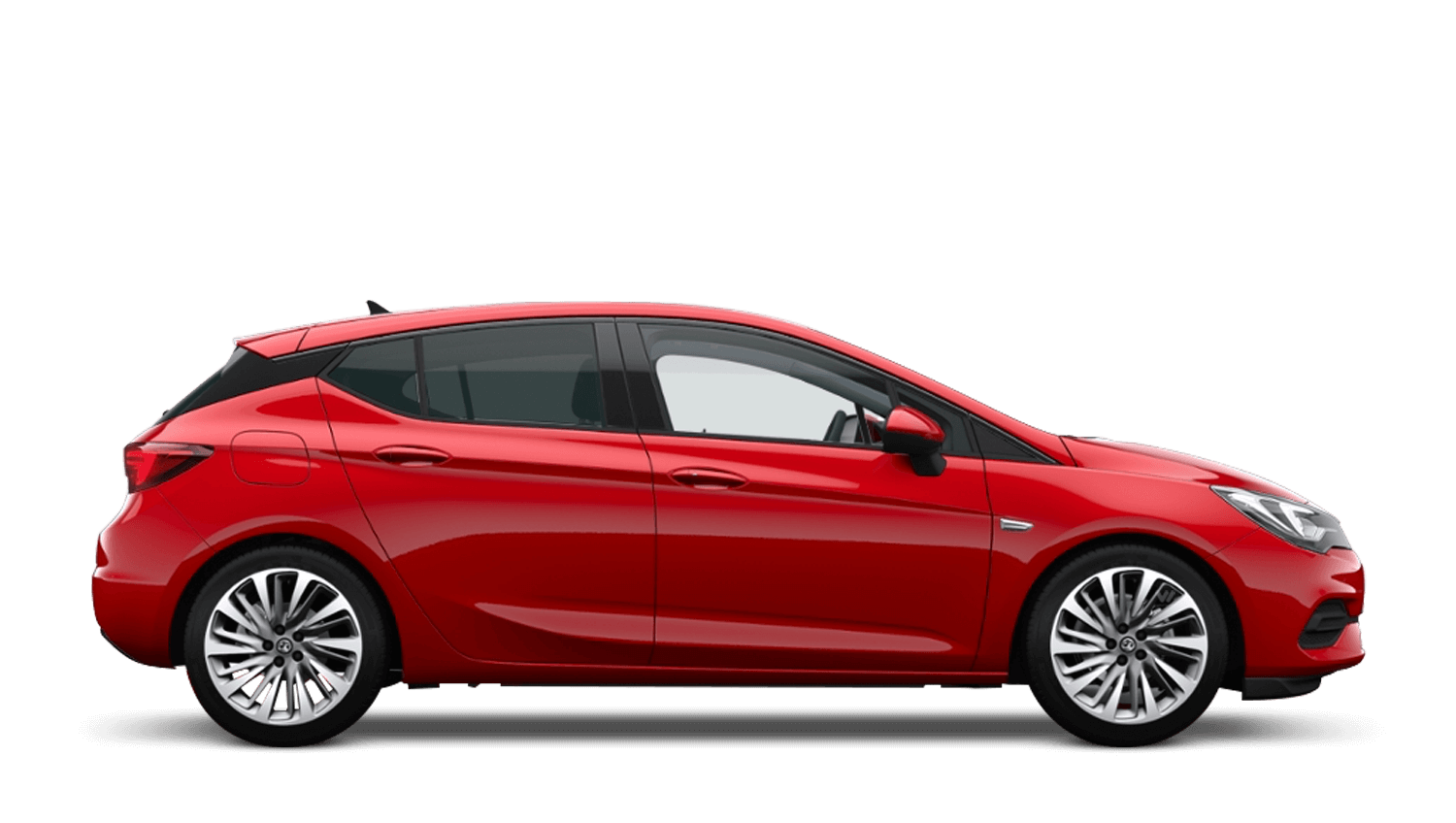 Lava Red (Brilliant) Vauxhall Astra