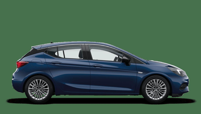 Navy Blue (Metallic) Vauxhall Astra