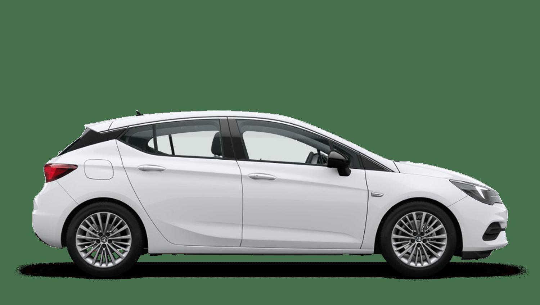 Summit White (Brilliant) Vauxhall Astra