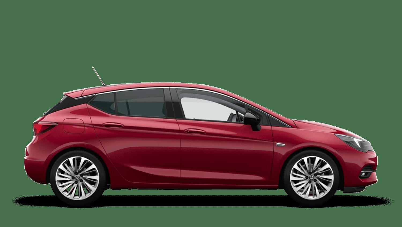 Hot Red (Metallic) Vauxhall Astra