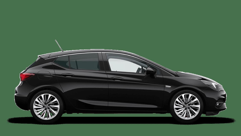 Mineral Black (Metallic) Vauxhall Astra