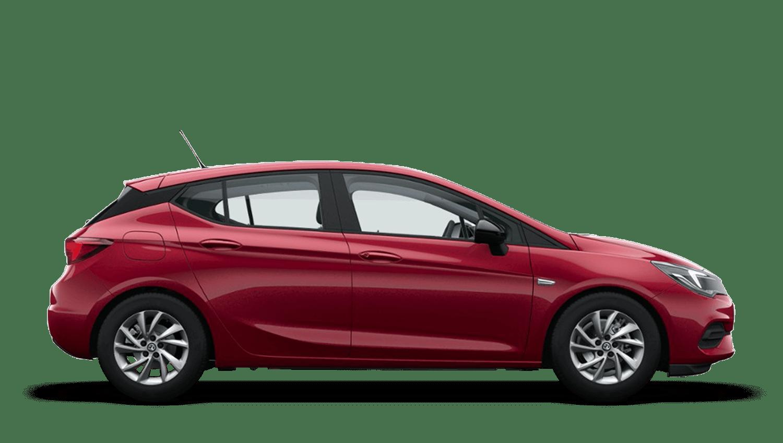 Hot Red (Premium) Vauxhall Astra