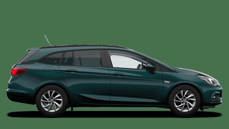 Emerald Green (Premium) Vauxhall Astra Sports Tourer