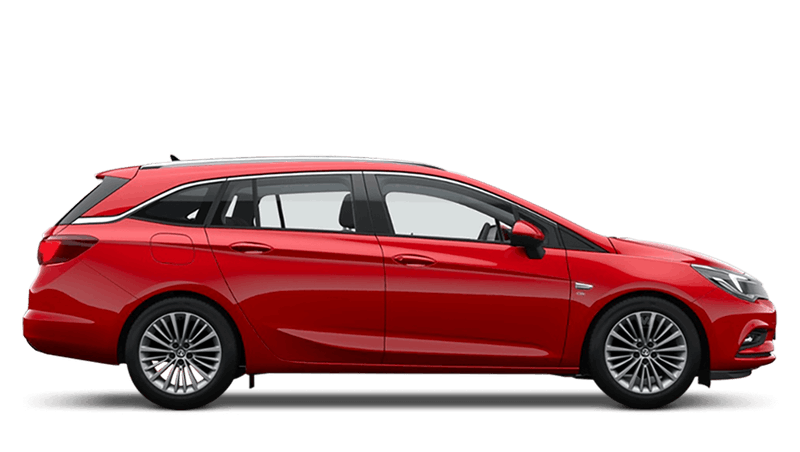 Lava Red (Brilliant) Vauxhall Astra Sports Tourer