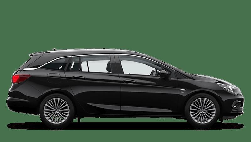 Mineral Black (Metallic) Vauxhall Astra Sports Tourer