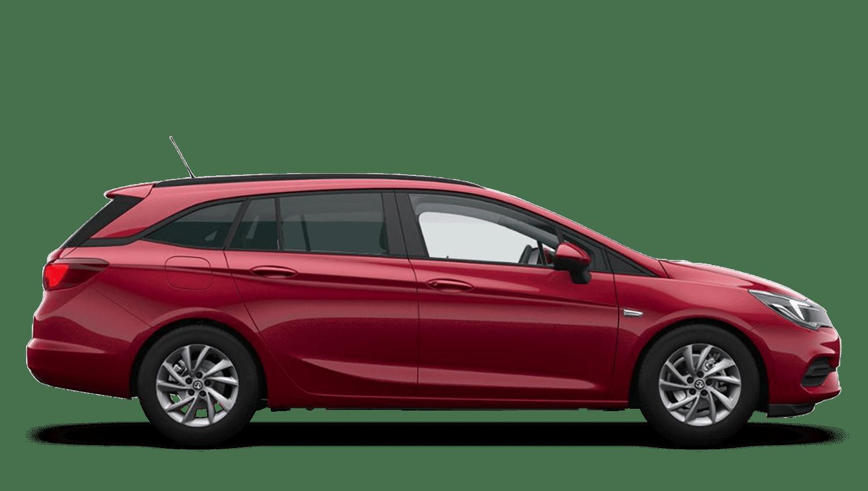 Hot Red (Premium) Vauxhall Astra Sports Tourer New