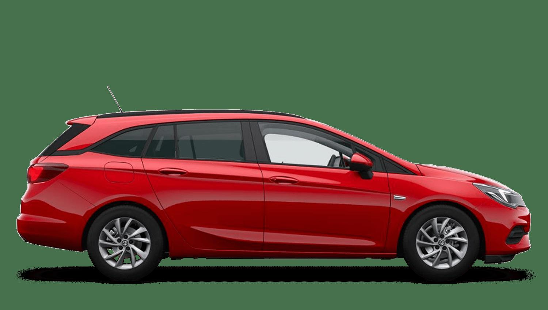 Lava Red (Brilliant) Vauxhall Astra Sports Tourer New