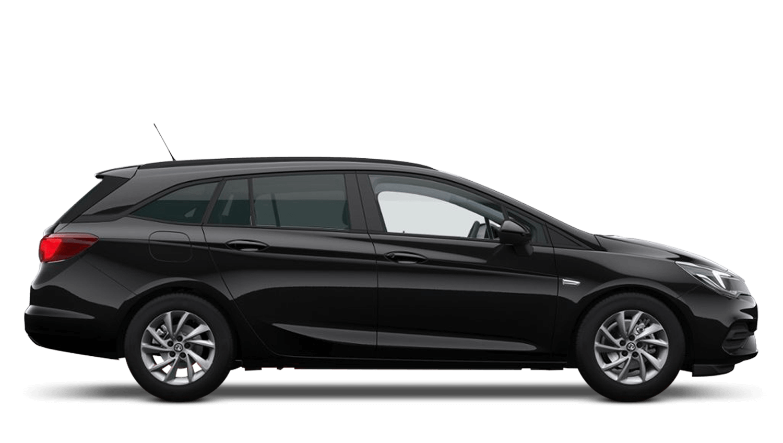 Mineral Black (Metallic) Vauxhall Astra Sports Tourer New