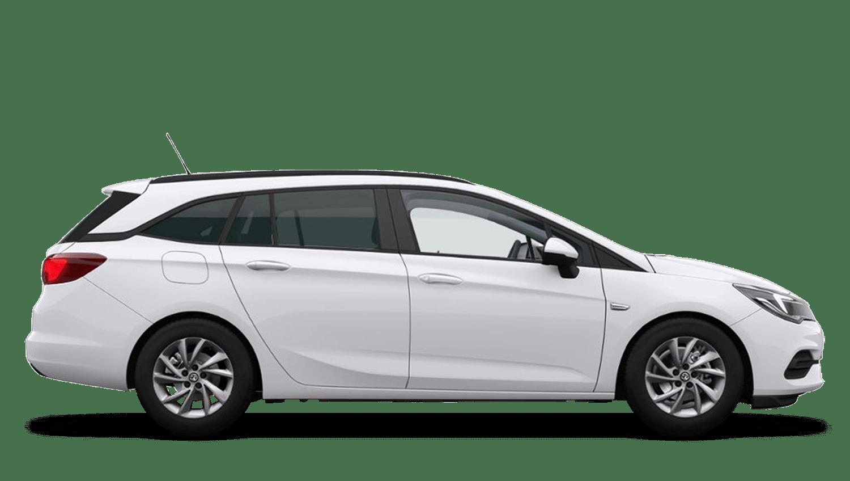 Summit White (Brilliant) Vauxhall Astra Sports Tourer New