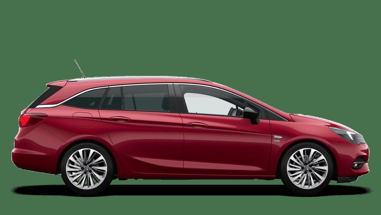 Hot Red (Metallic) New Vauxhall Astra Sports Tourer