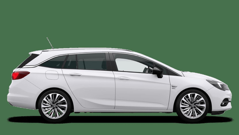 Summit White (Brilliant) New Vauxhall Astra Sports Tourer