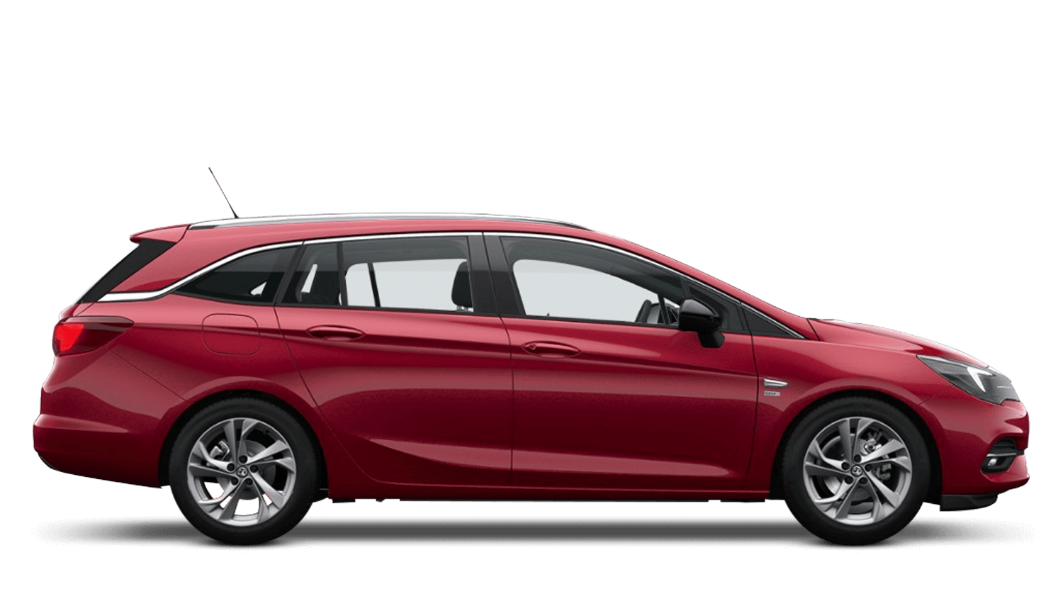 Hot Red New Vauxhall Astra Sports Tourer