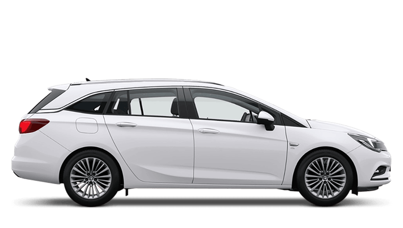 Summit White (Brilliant) Vauxhall Astra Sports Tourer