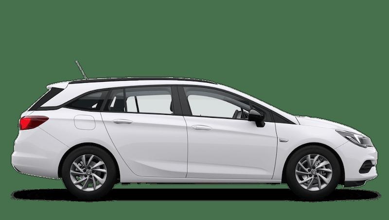 Summit White (Brilliant) Vauxhall Astra Sports Tourer