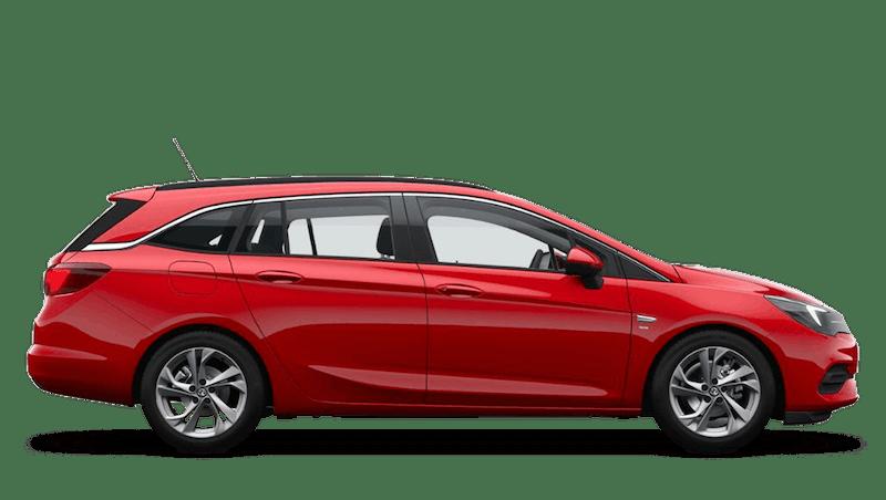 Lava Red (Brilliant) Vauxhall Astra Sports Tourer