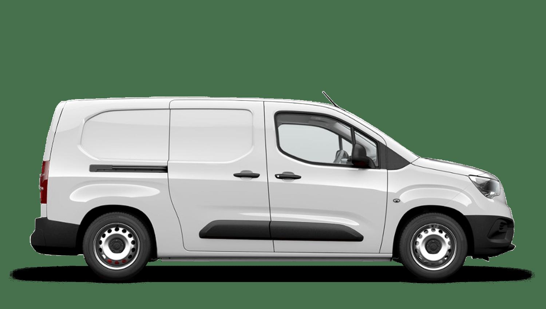 White Jade Vauxhall Combo
