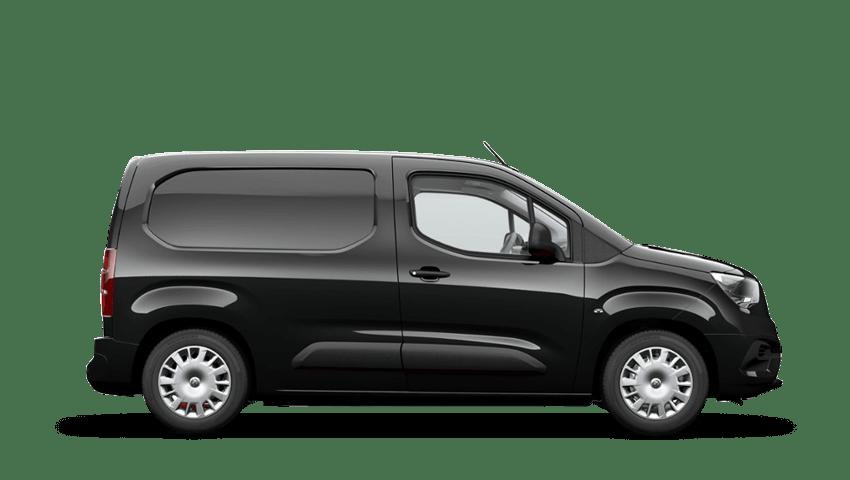Pearl Black (Metallic) Vauxhall Combo
