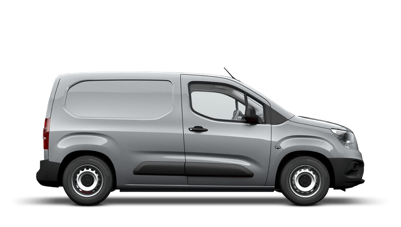 Quartz Silver (Metallic) New Vauxhall Combo Cargo