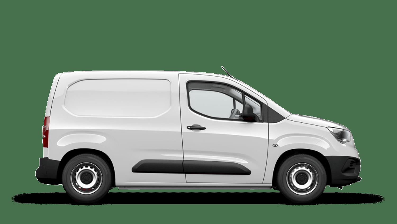 White Jade (Solid) New Vauxhall Combo Cargo