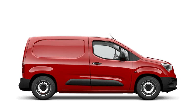 Ruby Red (Metallic) New Vauxhall Combo Cargo
