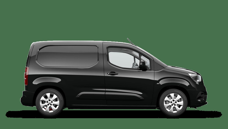 Pearl Black (Metallic) New Vauxhall Combo Cargo