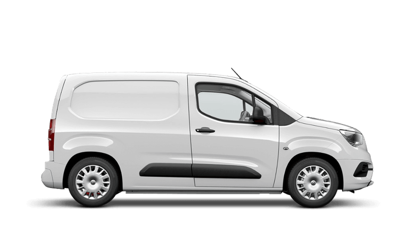 White Jade (Solid) New Vauxhall Combo Cargo