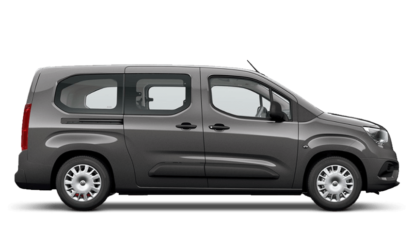 Moonstone Grey (Metallic) Vauxhall Combo Life