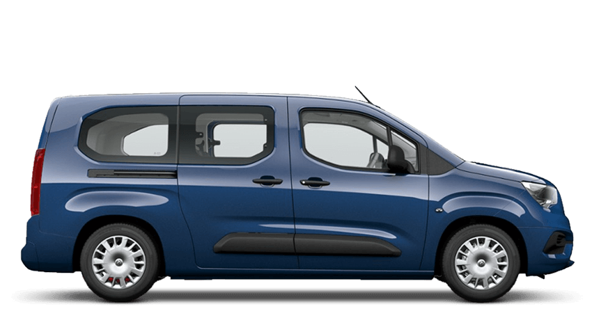 Night Blue (Metallic) Vauxhall Combo Life