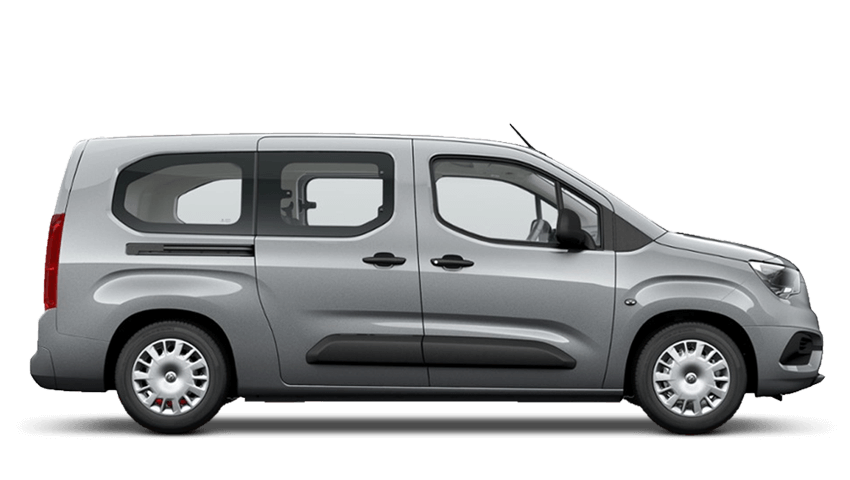 Quartz Grey (Metallic) Vauxhall Combo Life