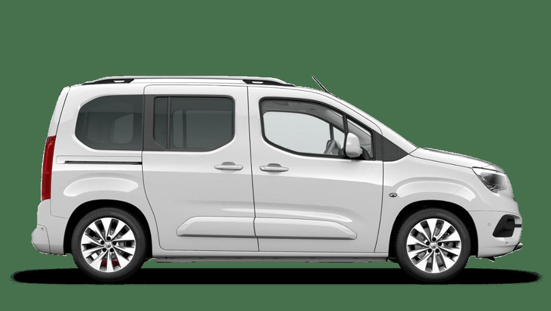 White Jade (Solid) Vauxhall Combo Life
