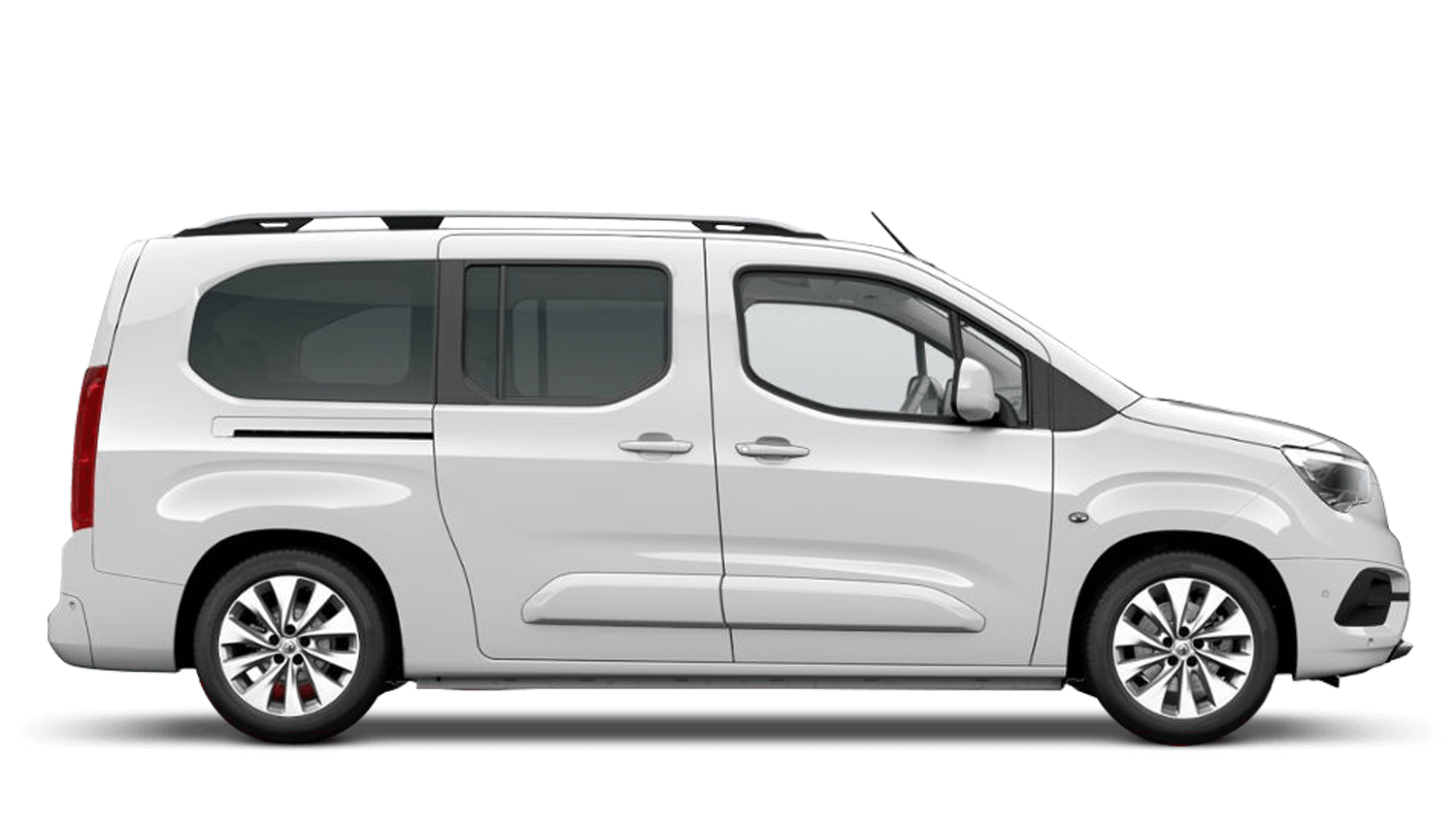 White Jade (Solid) Vauxhall Combo Life
