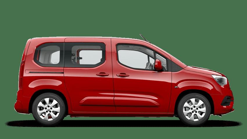 Ruby Red (Metallic) Vauxhall Combo Life