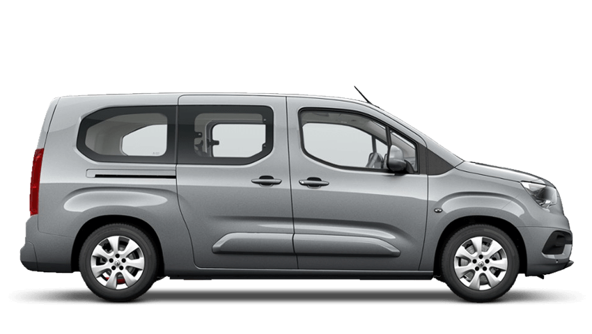 Quartz Grey (Metallic) Vauxhall Combo Life