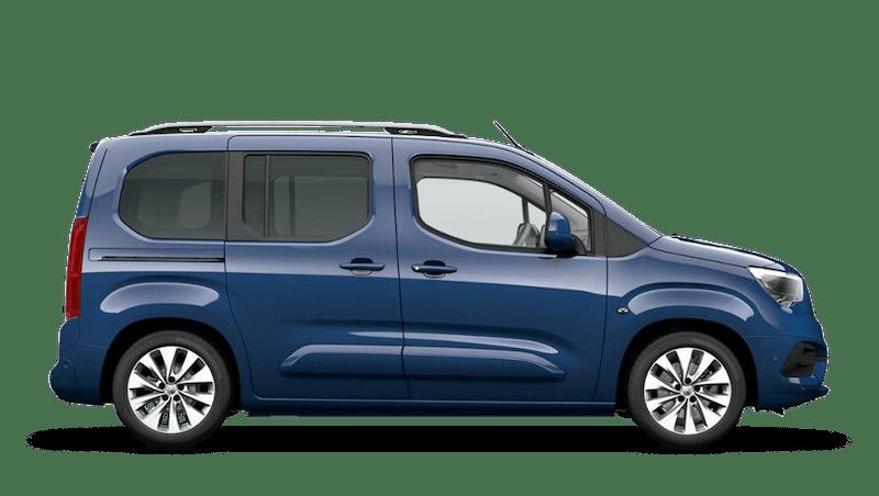 Night Blue Vauxhall Combo Life