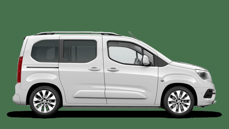 White Jade Vauxhall Combo Life