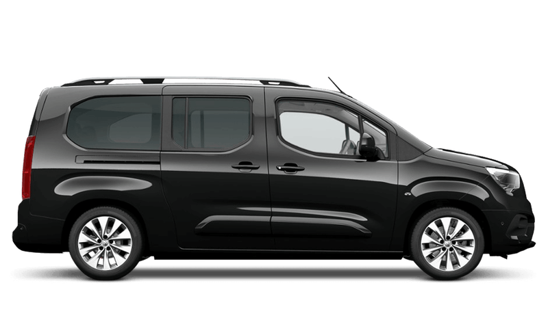 Onyx Black Vauxhall Combo Life