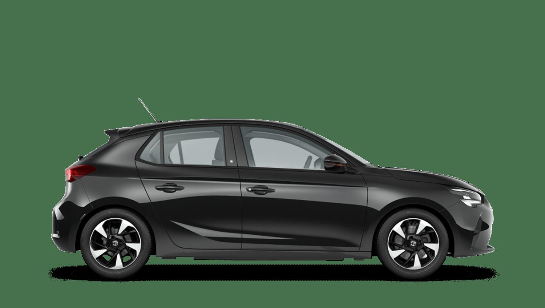 Diamond Black (Metallic) Vauxhall Corsa E