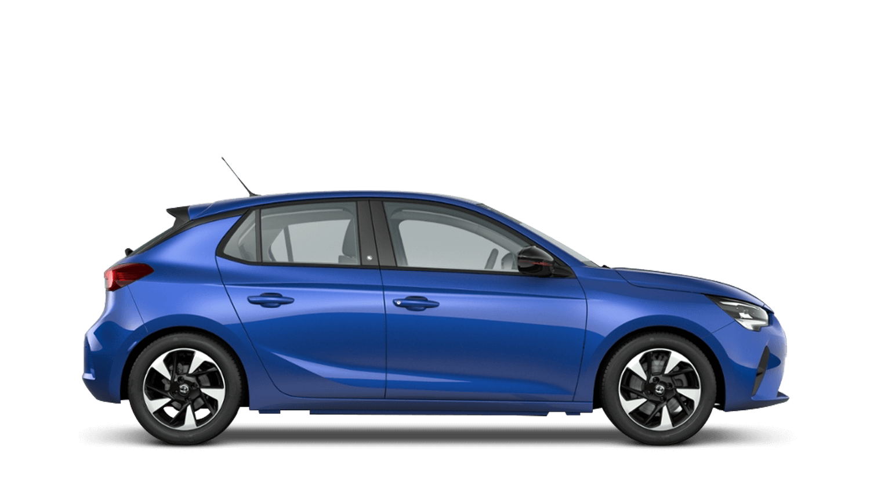 Voltaic Blue (Metallic) Vauxhall Corsa E