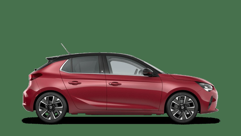 Hot Red (Premium) All-New Vauxhall Corsa-e