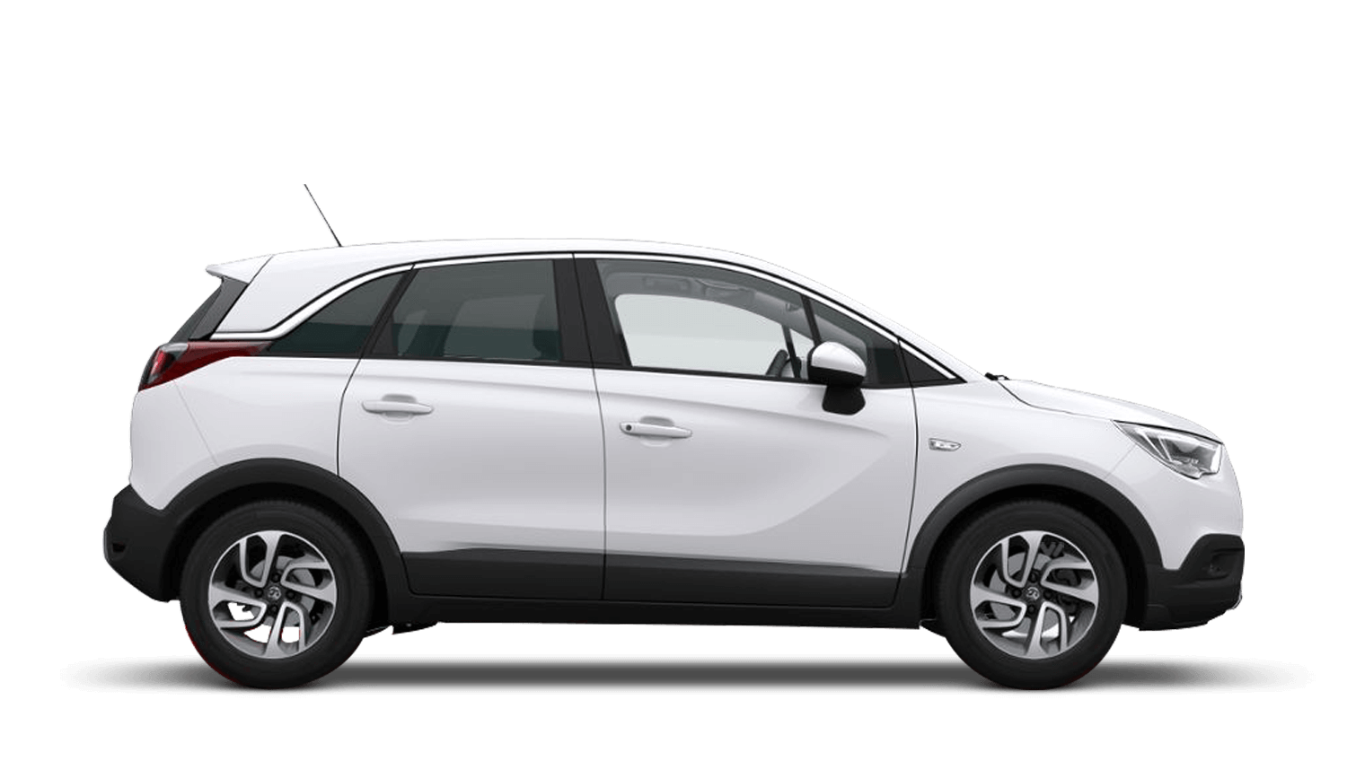 Summit White (Brilliant) Vauxhall Crossland X